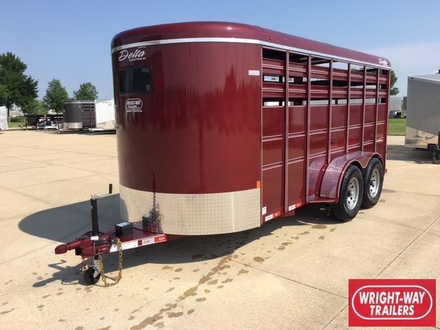 Delta 16' Stock Livestock Trailer