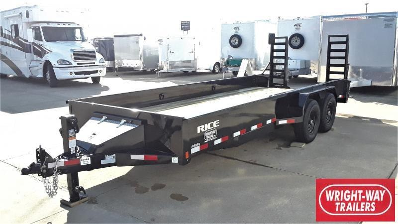 2020 Rice MAX FLATBED Equipment Trailer