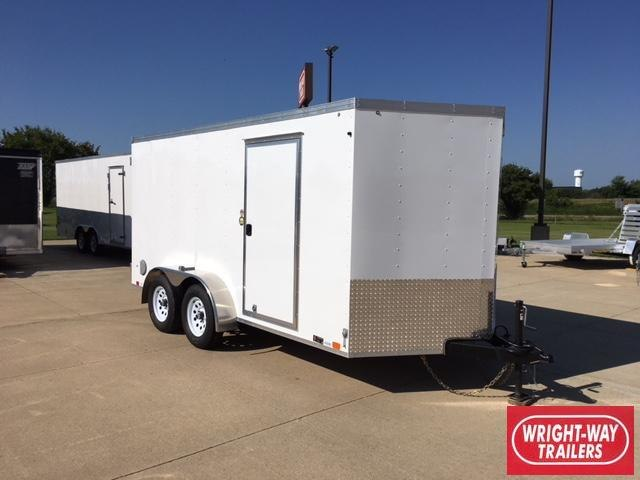 2019 United 7x14 Enclosed V-Nose Cargo Trailer