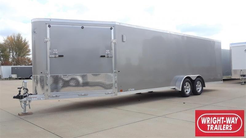 ATC RAVEN 22' Aluminum Snowmobile Trailer