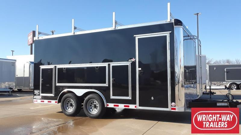Bravo 8.5X16 Tool Crib Enclosed Cargo Trailer