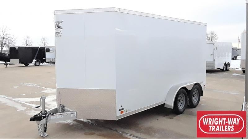 2020 ATC 7X14 RAVEN ALUMINUM CARGO Enclosed Cargo Trailer