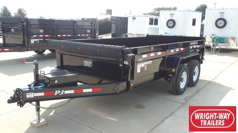 PJ 14' Dump Trailer Low Profile