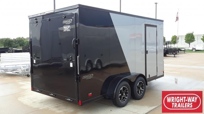 Bravo 7X14 Blackout Enclosed Cargo Trailer