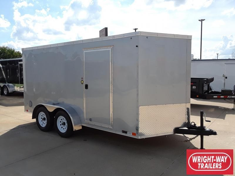 2019 United Trailers 7X14 Enclosed V-Nose Cargo Trailer