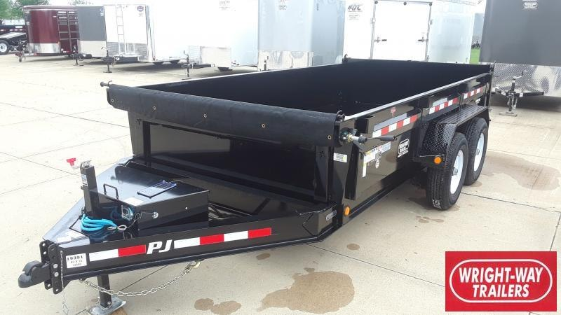 2020 PJ Trailers 14' LOW PRO DUMP Dump