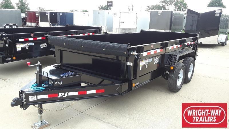 PJ 14' Dump Trailer Low Profile