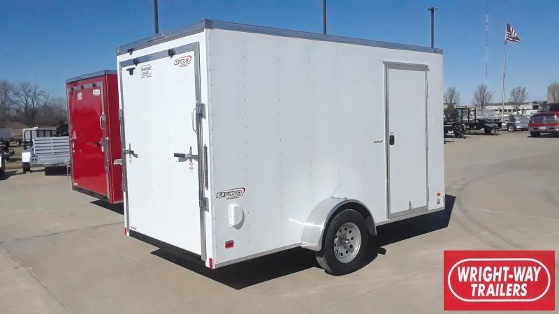 2020 Bravo Trailers 6X12 CARGO Enclosed Cargo Trailer
