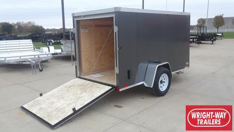United 5X10 V Nose Enclosed Cargo Trailer