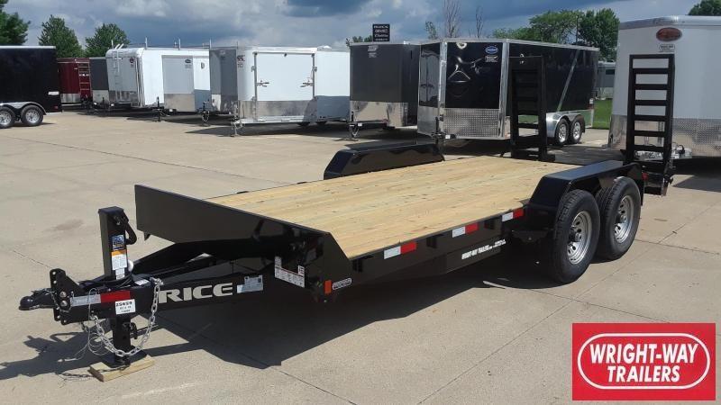 Rice 18' Equipment Trailer