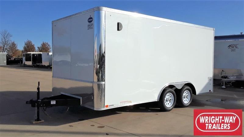 United 8.5X16 Enclosed Cargo Trailer