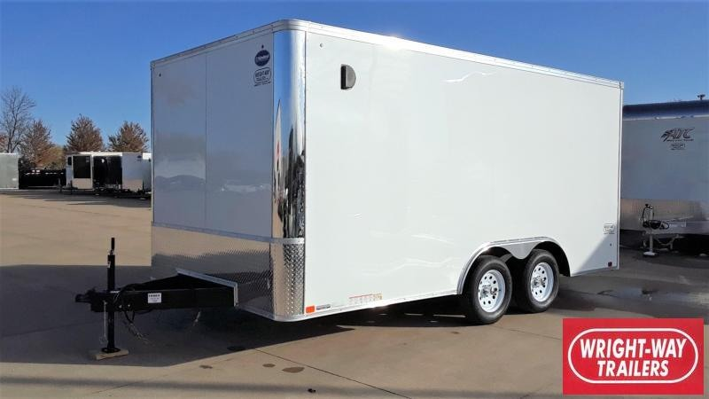 United 8.5X16 Enclosed Cargo Trailer
