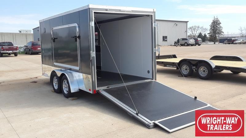 2020 United Trailers 7x14 MOTORCYCLE TRAILER Motorcycle Trailer
