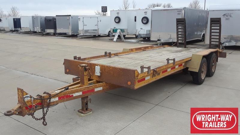 1999 RediHaul 21' Heavy Equipment Trailer