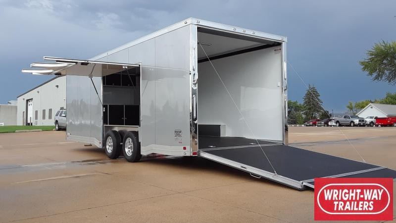 ATC QUEST 24' Aluminum Car / Racing Trailer