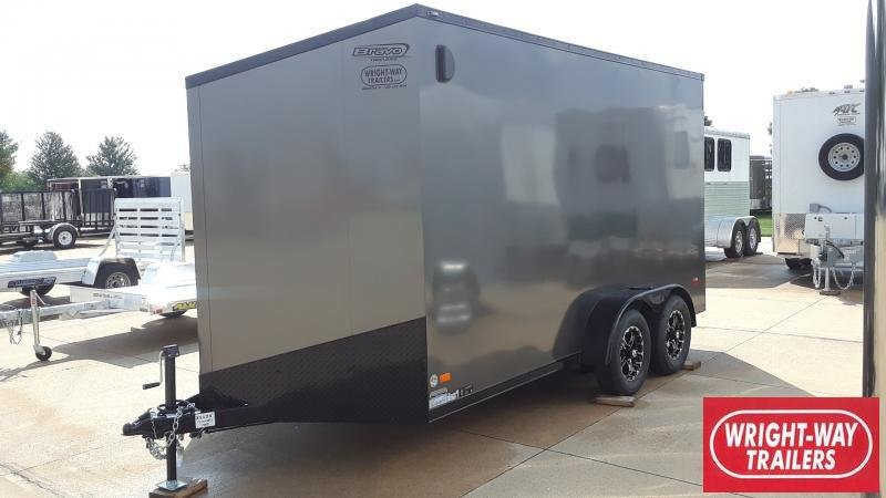 2020 Bravo Trailers 7X14 CARGO SCOUT Motorcycle Trailer