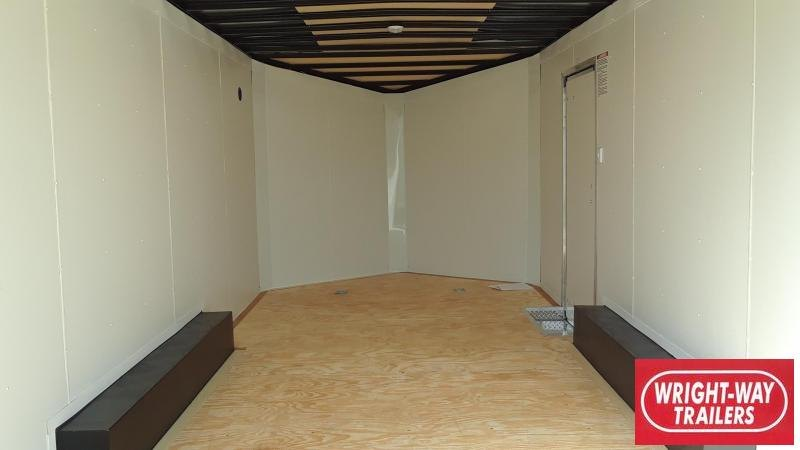 United 8.5X16 V Nose Enclosed Cargo Trailer