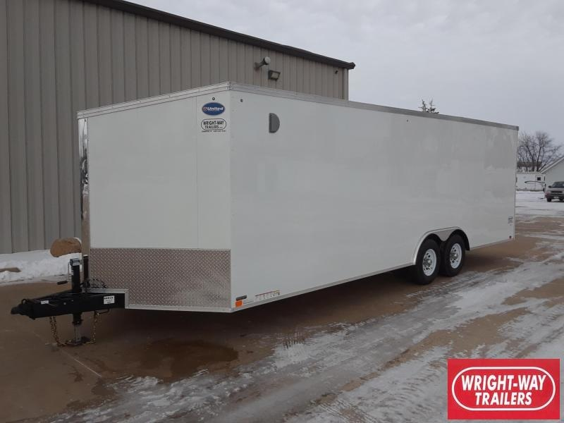 2019 United 8.5X24 + V Nose Car / Racing Trailer