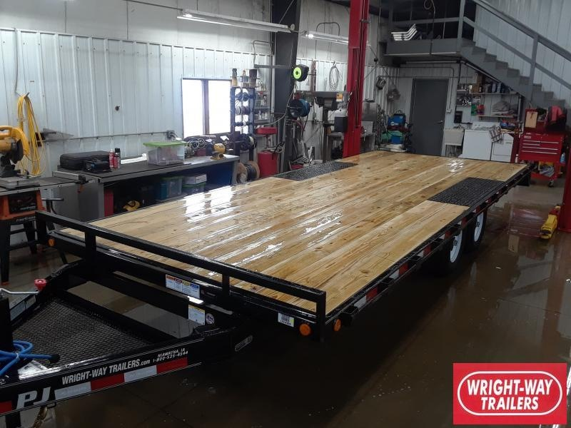 2019 PJ Trailers MED DUTY DECKOVER Flatbed Trailer