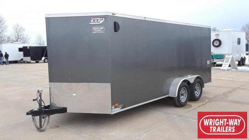 2015 Bravo 7X16 Enclosed Cargo Trailer