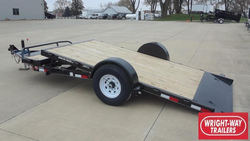 PJ Trailers 16' Tilt Equipment Trailer