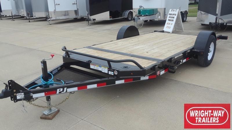 PJ Trailers 16' Tilt Equipment Trailer