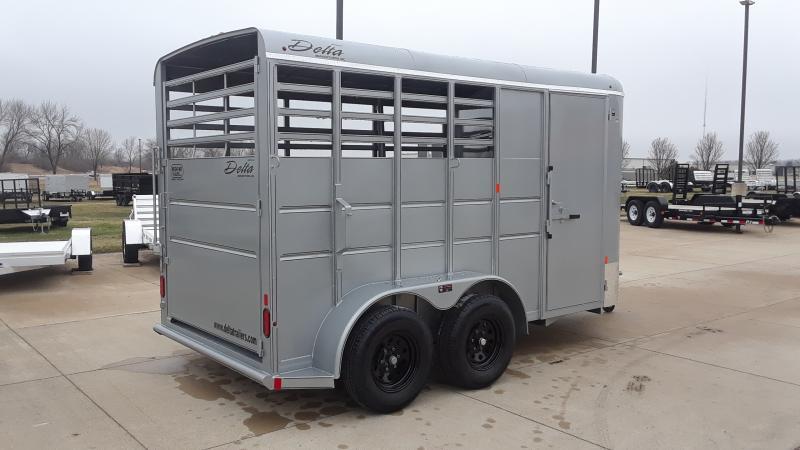 2020 Delta Manufacturing BUMPER HORSE Horse Trailer
