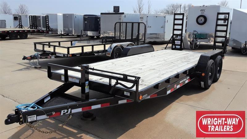 "2020 PJ Trailers 20' X 6"" CHANNEL CUSTOM CARHAULER Equipment Trailer"