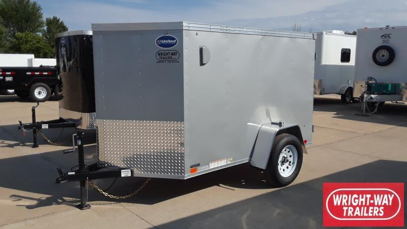2020 United Trailers V NOSE ENCL UTILITY Enclosed Cargo Trailer