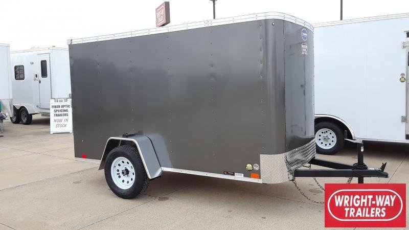 United 5X10 Enclosed Cargo Trailer