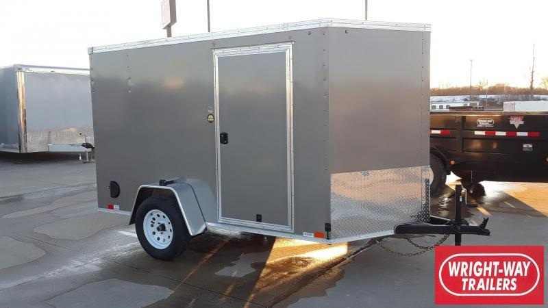 United 6X10 Enclosed Cargo Trailer
