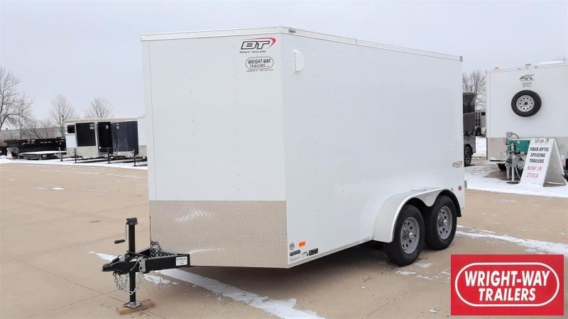 Bravo Trailers 7X12 Enclosed Cargo Trailer