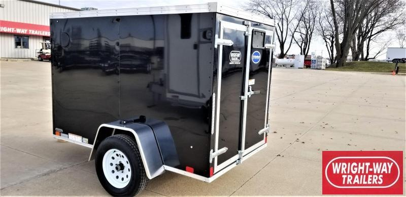 United Trailers 5X8 Enclosed Cargo Trailer