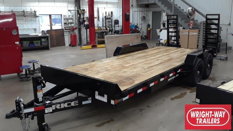 Rice 20' Equipment Trailer