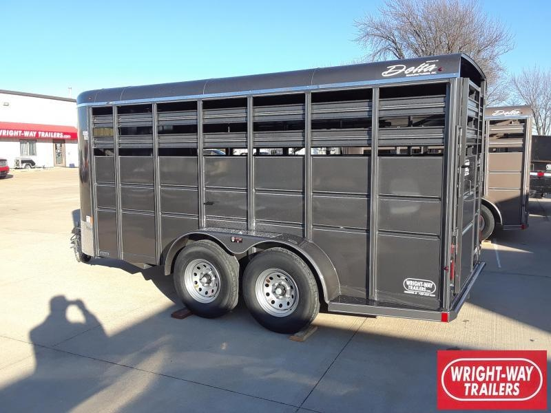 Delta 16' Livestock Trailer Stock Trailer