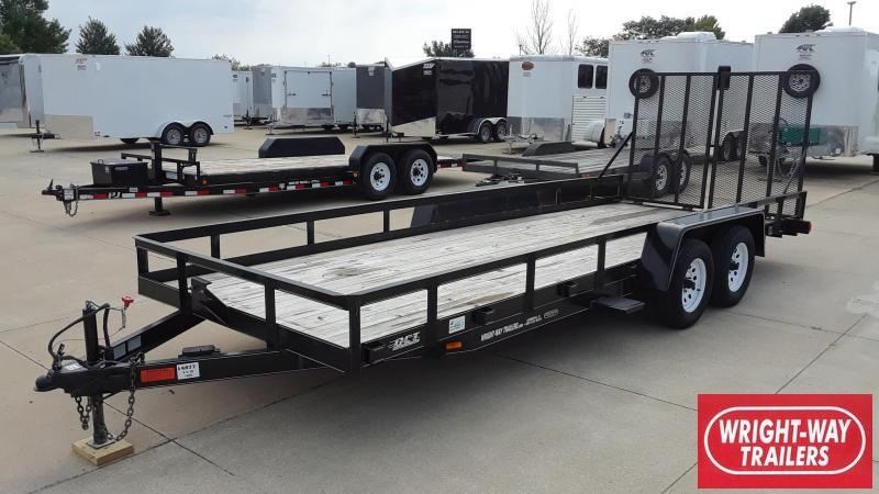 2006 DCT 20' Utility Trailer