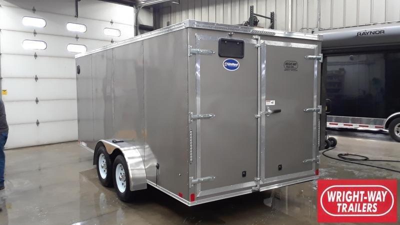 United 7X16 Enclosed Cargo Trailer