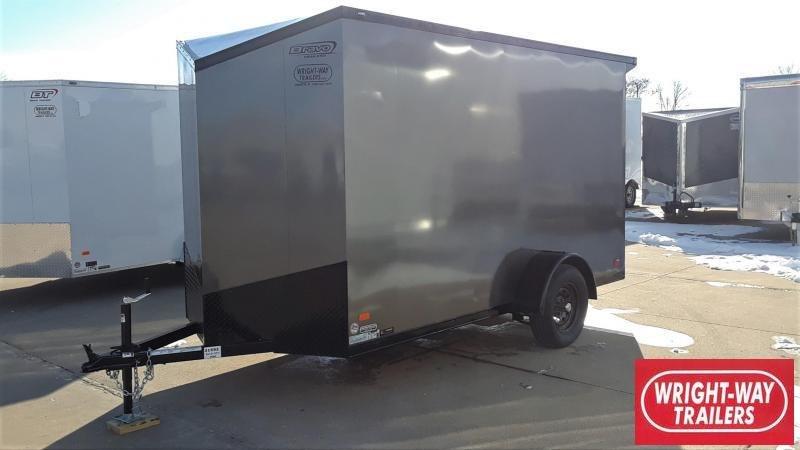 Bravo 6X12 Blackout Enclosed Cargo Trailer