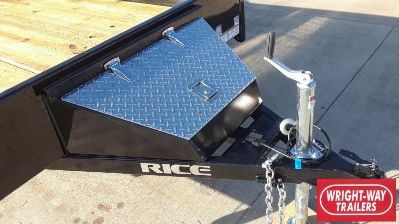 2020 Rice 12' Utility Trailer