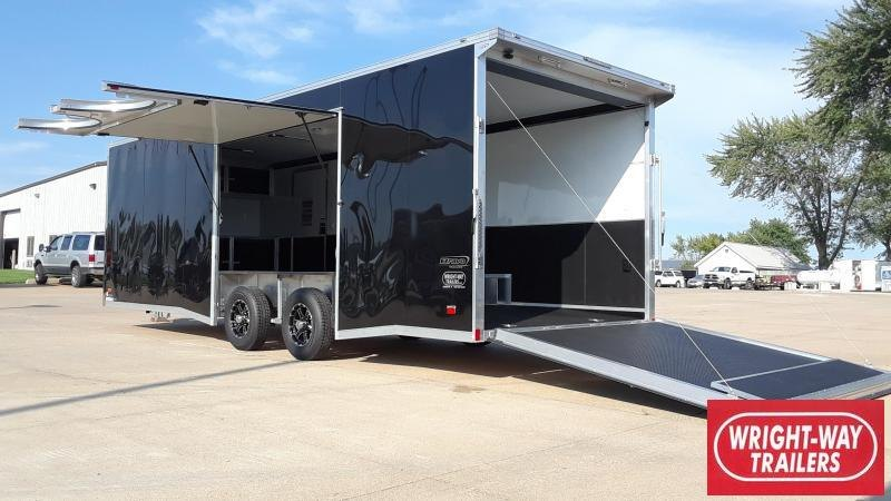2020 Bravo 8.5X24 Car / Racing Trailer Aluminum