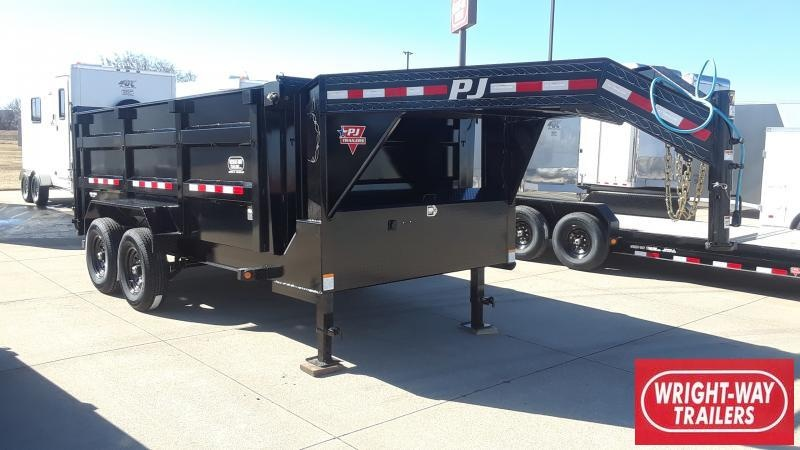 2020 PJ Trailers 14' LOW PRO HIGH SIDE DUMP Dump