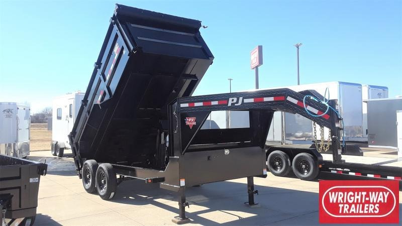 2020 PJ Trailers 14' LOW PRO HIGH SIDE DUMP Dump
