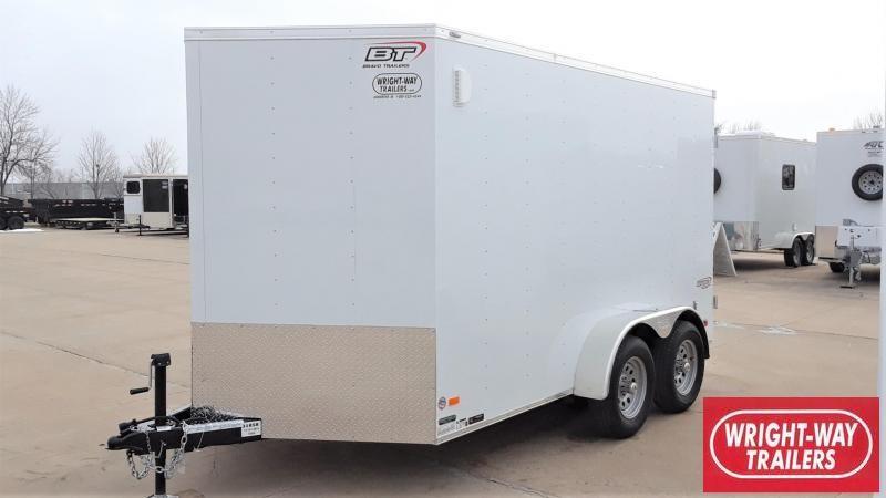 Bravo 7X12 Enclosed Cargo Trailer