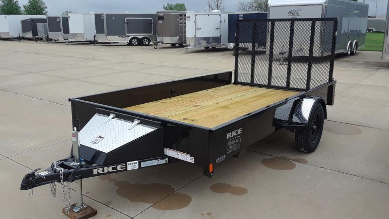 2020 Rice 76 X 12 UTLITY Utility Trailer