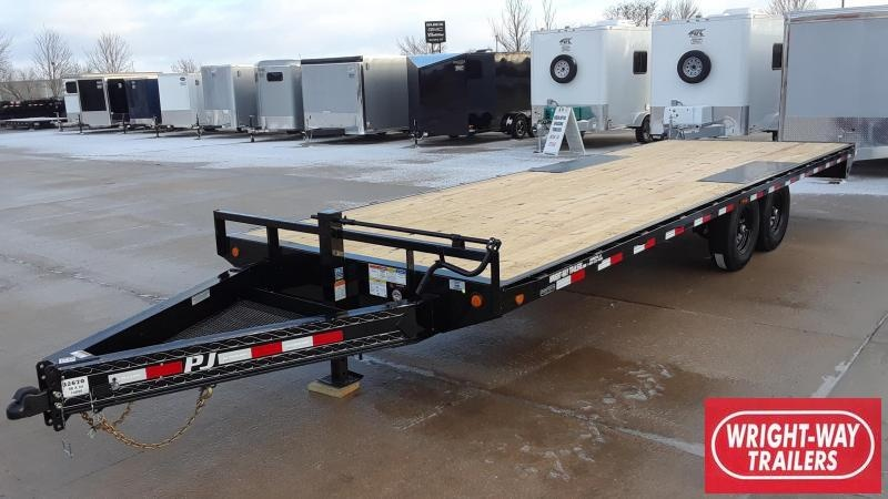 PJ Trailers 24' Flatbed Trailer