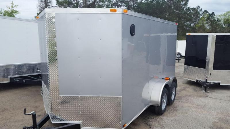 2019 Quality Cargo 6 x 12 Single Axle Enclosed Cargo Trailer