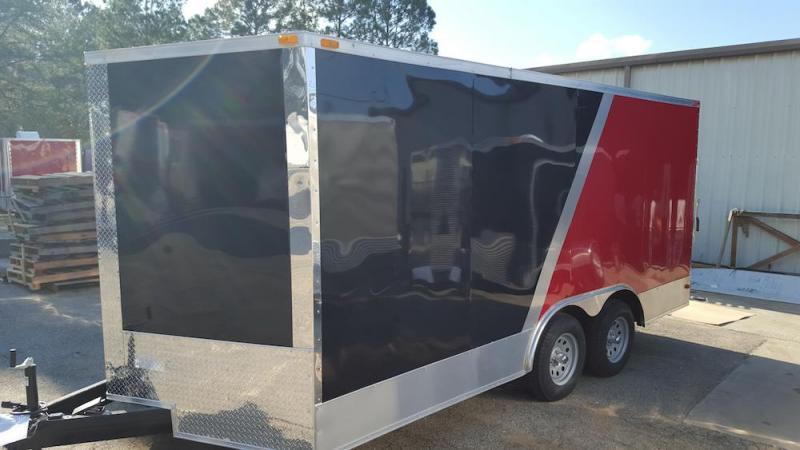 2019 Quality Cargo 8.5 x 16 TA Enclosed Cargo Trailer