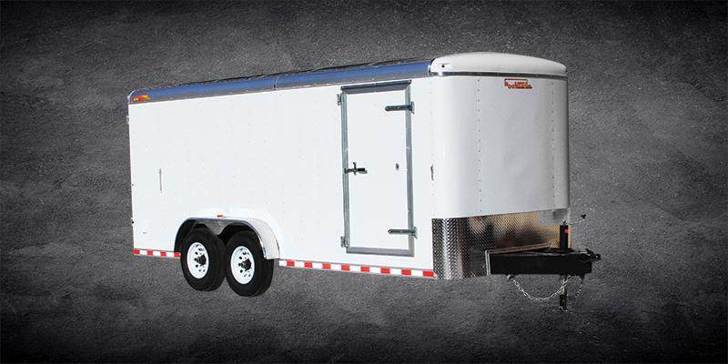 2019 Doolittle Trailer Mfg Premier 7 Wide Tri Axle 21K Enclosed Cargo Trailer