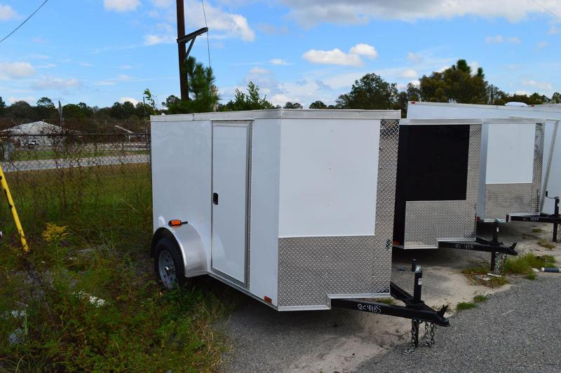 2019 Quality Cargo 5 x 8 Single Axle Enclosed Cargo Trailer