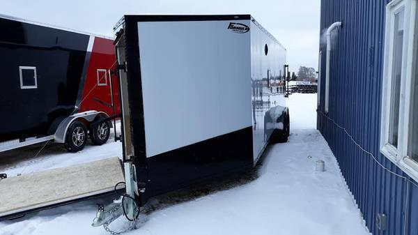 2020 Formula Trailers 7X29SNOW Snowmobile Trailer